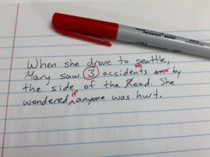Don't fear the red pen! Editing helps to clarify your message.