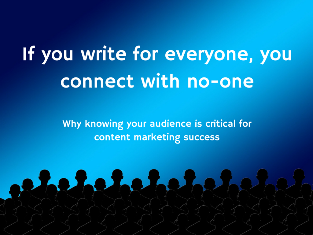 how to know the intended audience