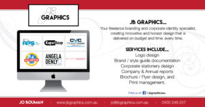 How to contact JB Graphics