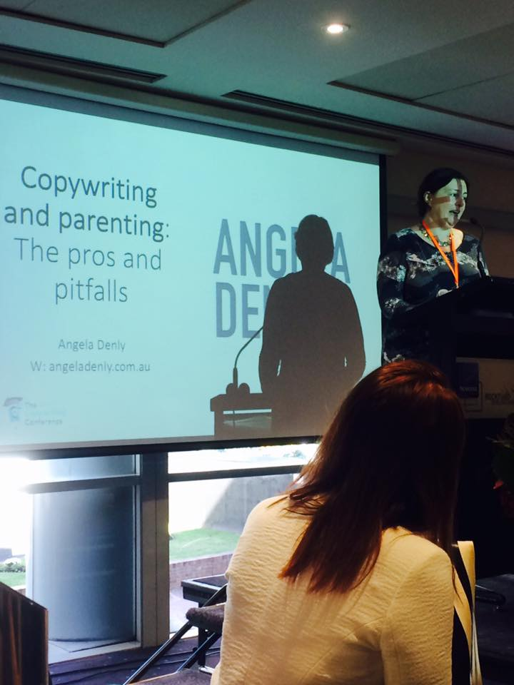 presenting at CopyCon